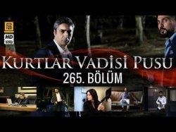 Kurtlar Vadisi Pusu 265-серия | 265-Bolum